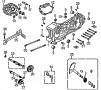 Motorgehäuse links / Kickstarter